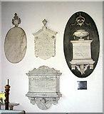 TM2692 : St Margaret's church - memorials by Evelyn Simak