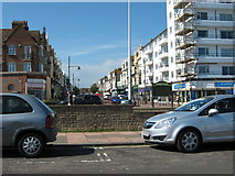 TQ7407 : Devonshire Road seen from the sea front by Terry Head
