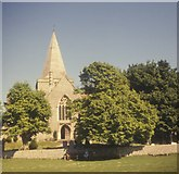 TQ5203 : St Andrew's church, Alfriston by G H Clarke