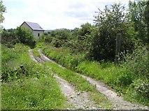 C4547 : Lane, New Town by Kenneth  Allen