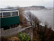 TA0487 : Scarborough's Spa Cliff Lift by Dr Patty McAlpin