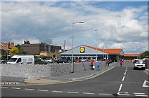 ST3049 : Another of Burnham on Sea's supermarkets by Ant Basterfield
