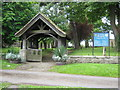 NZ2215 : Church Lychgate by peter robinson