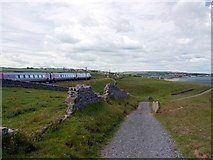 NU0150 : Train on the main-line to Berwick-upon-Tweed by Andrew Curtis