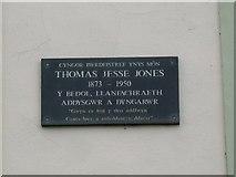 SH3182 : The Jesse Jones memorial at Capel Pont yr Arw by Eric Jones