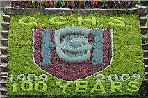 TL9925 : Ornate display in Theme Garden by Zorba the Geek