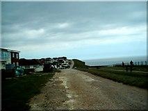 TQ4100 : Cliff Path Peacehaven by Paul Gillett