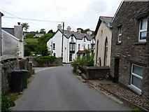 SS6644 : Entering Parracombe from the south east. by Roger A Smith