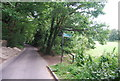 TQ5942 : Barnett's Wood Nature Reserve signposted off Powdermill Lane by N Chadwick