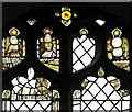 TM1582 : St George's Church - medieval glass by Evelyn Simak