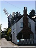 TA0233 : Skidby House and Skidby Mill by Dr Patty McAlpin