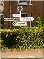 SU0513 : Cranborne: old finger-post by Chris Downer
