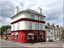 TQ7668 : Napier Arms, Gillingham by Chris Whippet