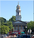 TQ2882 : St Marylebone parish church seen from Regents Park by Andy F