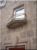 NO8785 : A balustrade in Stonehaven High Street by Stanley Howe