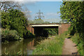 SO8657 : Canal bridge at Blackpole Road by Row17