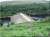 SE1007 : Bilberry Reservoir and Digley Reservoir by Chris Wimbush