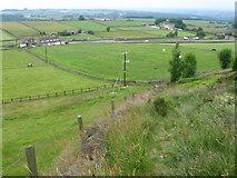 SE1808 : Footpath from Gate Foot towards Marsh Lane by Chris Wimbush