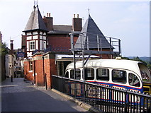 SO7193 : Bridgnorth Cliff Railway by Gordon Griffiths