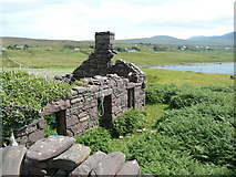 NC0206 : Ruined house at Achlochan by Russel Wills