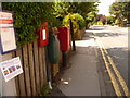 ST8806 : Blandford Forum: postbox № DT11 126, Milldown Road by Chris Downer