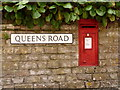 ST8806 : Blandford Forum: postbox № DT11 17, Queen's Road by Chris Downer