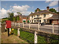 ST9008 : Pimperne: postbox № DT11 108, Chapel Lane by Chris Downer