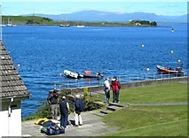 NM8529 : Oban Sailing Club by Mary and Angus Hogg