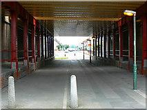 SU1585 : Cycle track under the London to Swindon railway, Swindon by Brian Robert Marshall