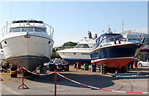 SZ3394 : Motor boats for sale at Haven Boatyard by Andy F