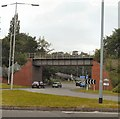 SJ8688 : Stockport Road, Cheadle by Gerald England