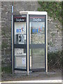 NZ0168 : Bilingual Welsh/English telephone box at Halton Shields by Mike Quinn