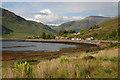 NG9420 : Loch Duich shoreline at Allt a' Chruinn by Nigel Brown