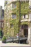 TQ4745 : Drawbridge at Hever Castle, Hever, Kent by Peter Trimming