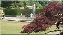 TQ4745 : Gardens at Hever Castle, Hever, Kent by Peter Trimming