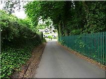 TQ6059 : Road In Wrotham by Chris Gunns