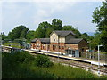 TQ4644 : Hever Station, Kent by Peter Trimming