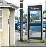 NX8354 : Telephone box, Kippford by Ann Cook