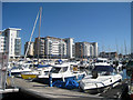 TQ6401 : Marina at Sovereign Harbour, Eastbourne by Oast House Archive