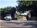TQ5900 : Cemetery Gates, Eldon Road by Oast House Archive