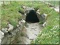 SX0489 : Underground passage, Tintagel Island by Humphrey Bolton