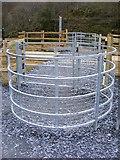 SH5947 : Kissing gate - level crossing near Bryn-y-Felin Bridge by Phil Champion