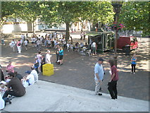 SU6400 : A busy Guildhall Square by Basher Eyre