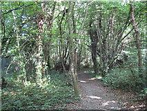 TQ0893 : Moor Park: Footpath by Sandy Lodge Golf Club by Nigel Cox