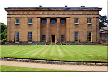 NZ0878 : East facade of Belsay Hall by Andy F