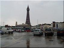 SD3035 : Blackpool Tower by Stephen Sweeney