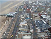SD3036 : The view north from Blackpool Tower by Stephen Sweeney