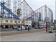 SD3033 : Blackpool Pleasure Beach by Stephen Sweeney