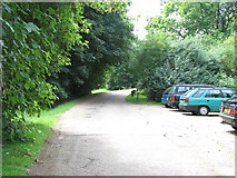 TG2707 : Car park on Whitlingham Lane by Evelyn Simak