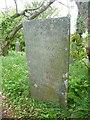SX1497 : Memorial stone, St Gennys by Humphrey Bolton